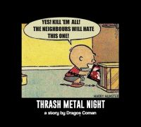 Thrash METAL NIGHT w Dragoș Coman