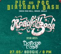 Pic & Poc Birthday Bash: RoadkillSoda & Damage Case